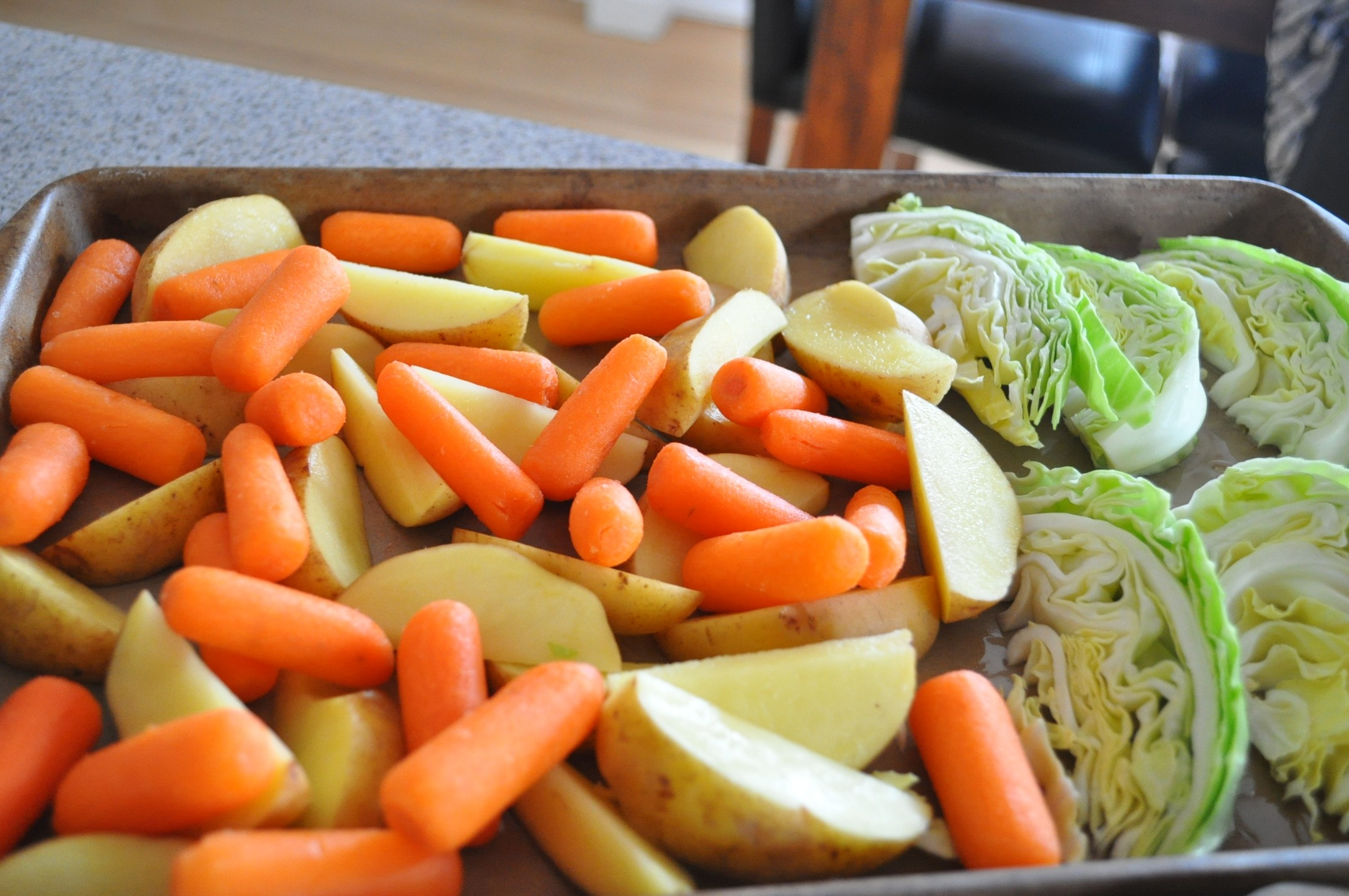 Cabbage Potatoes And Carrots Recipe