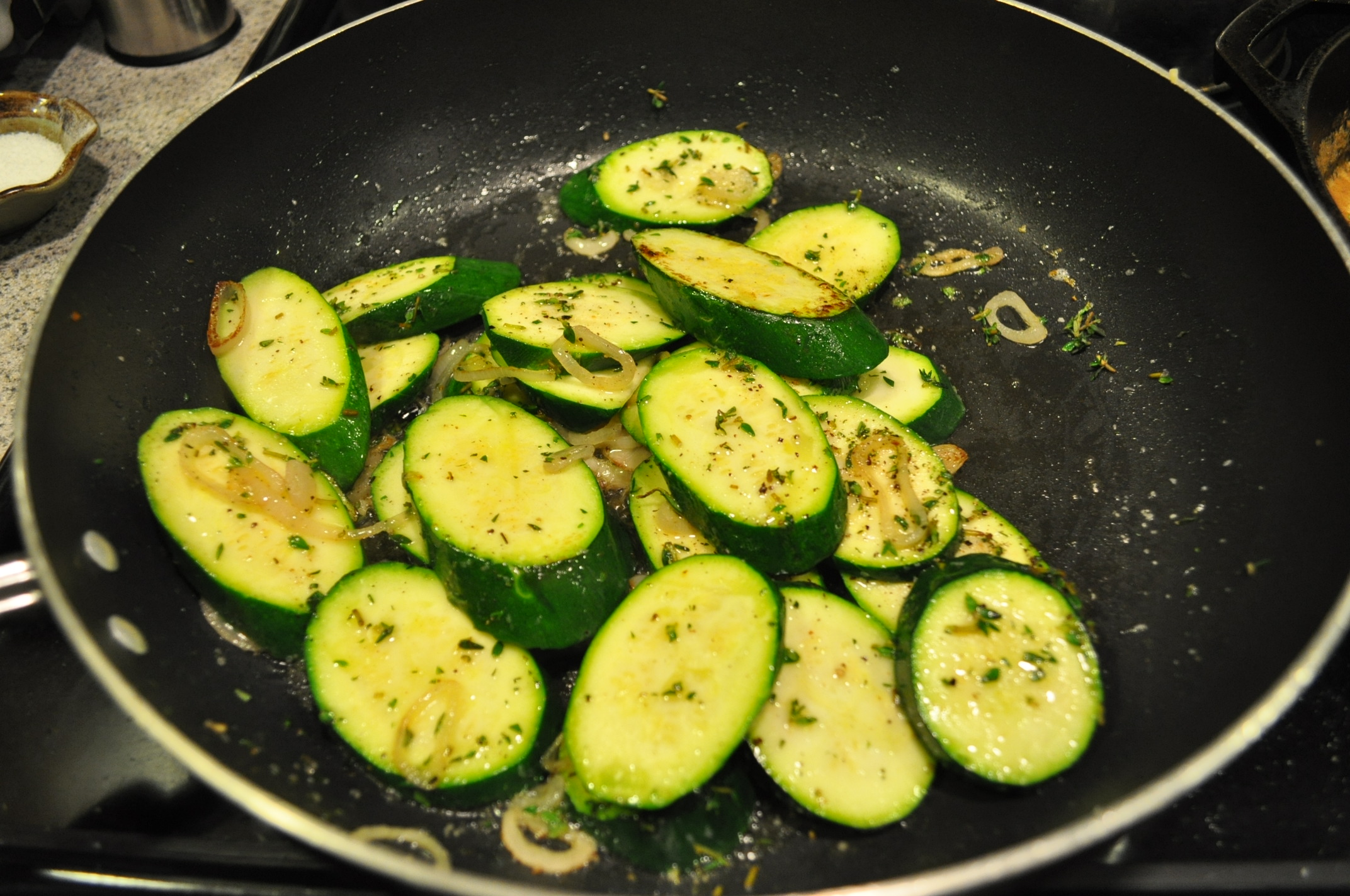 Sauteed Zucchini with Thyme | The Kitchen Witch