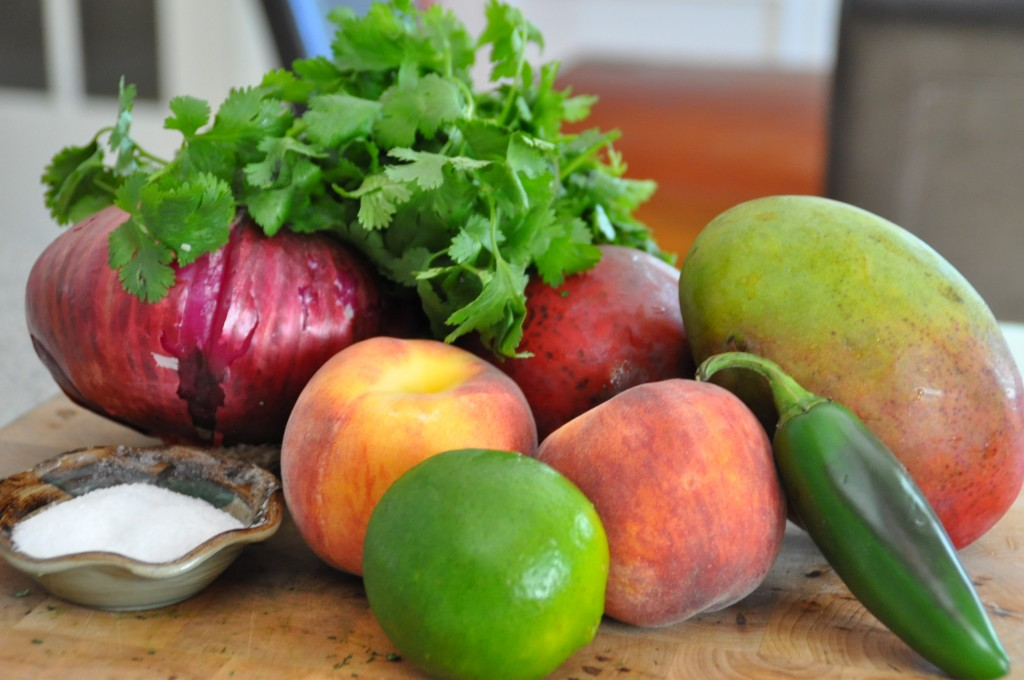 Food So Good Mall: Fresh Fruit Salsa with Peaches, Mangoes and ...