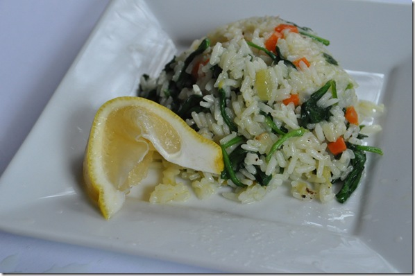 Rice Pilaf with Veg