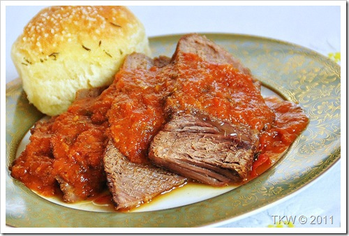 Plain ol' good pot roast
