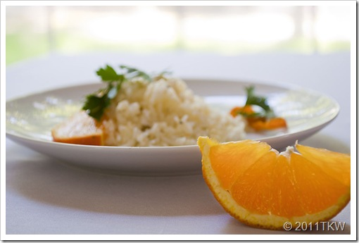 Orange Tarragon Basmati Rice 1