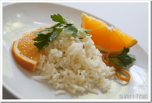 Orange Tarragon Basmati Rice