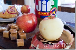 Photo 2 Baked PB and caramel apples_110611_0019