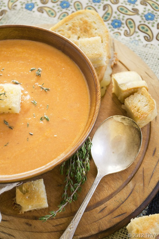 tomato soup creamy garlic tomato soup with fiery roasted garlic tomato ...
