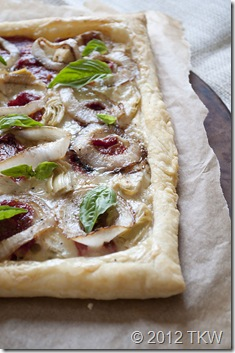 Sun Dried Tomato and Goat Cheese Brie Tart_011412_0012