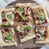 Bella Sun Luci, Sundried Tomatoes, onion, basil, Brie, cheese, Puff Pastry, Easy, definitions