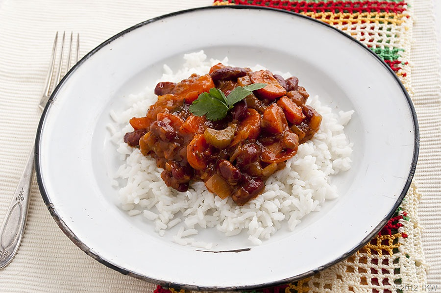 Sofrito With Beans And Rice