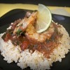 shrimp, tomatoes, Cilantro, rice, brown rice, Spanish, Dominican Republic, traditional, intermational,
