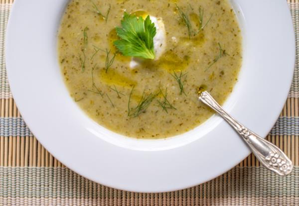 ... recipe was heavily inspired by one on Food 52, Roasted Celery Soup