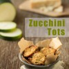 Roasted Garlic Zucchini Tots www.thekitchenwitchblog.com