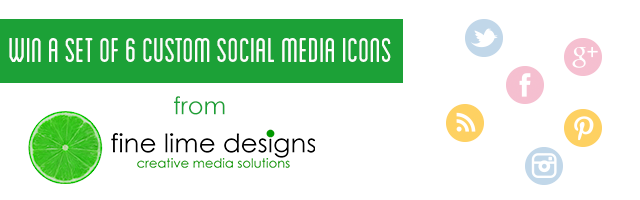 Social Media Icon Giveaway