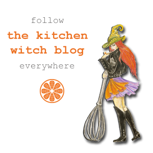 follow the kitchen witch on social media