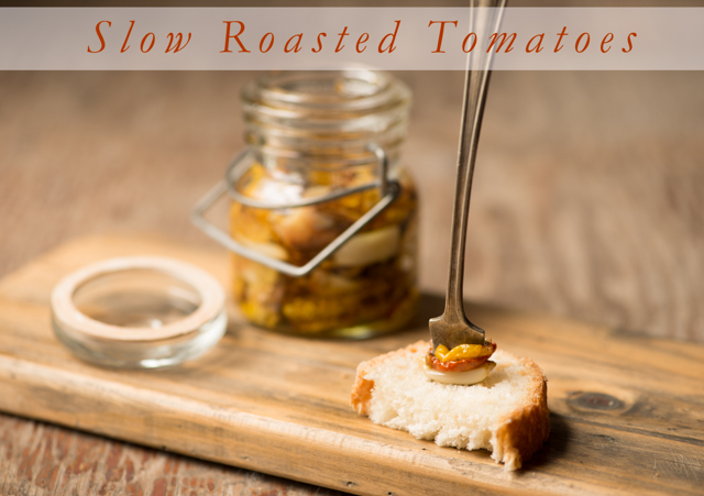 slow roasted tomatoes ©Rhonda Adkins Photography 2013-2