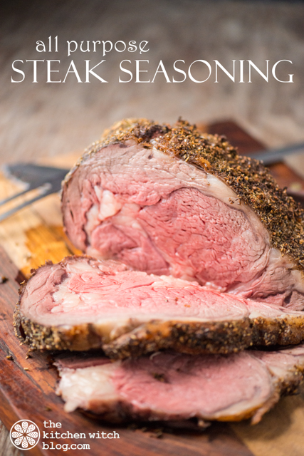 all-purpose steak seasoning www.thekitchenwitchblog.com ©Rhonda Adkins Photography 2013