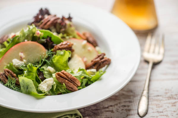 Apple Salad with Sweet and Spicy Pecan ©RhondaAdkinsPhotography