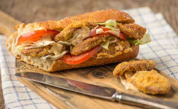 This is possibly the best Po'boy in the world…but before that, a ...