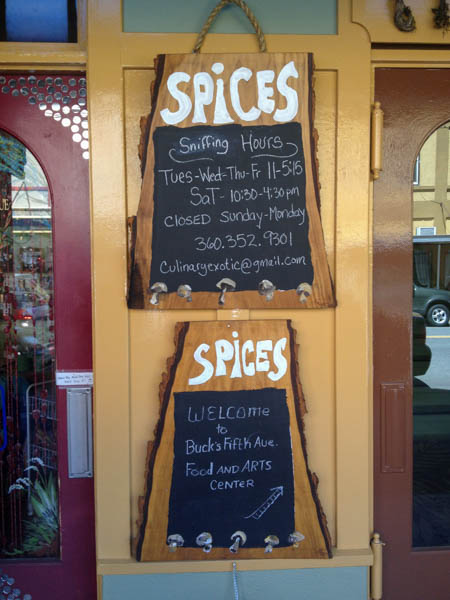 Cool spice shop if you are ever in Olympia...Free sniffs!