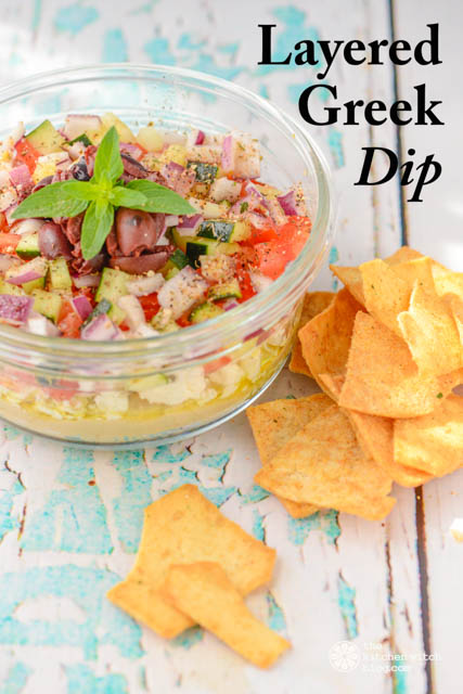 Layered Greek Dip©RhondaAdkinsPhotography2015