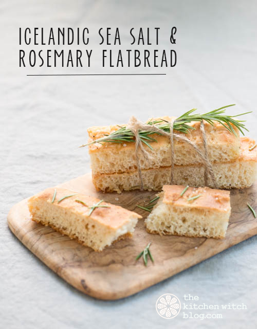 Icelandic sea salt and rosemary flat bread the kitchen witch forumfinder Gallery