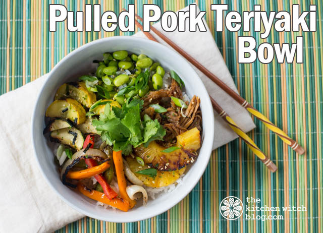 Pulled Pork Teriyaki Bowls
